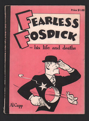 Al Capp's Fearless Fosdick / First Edition 1956 Comic Book