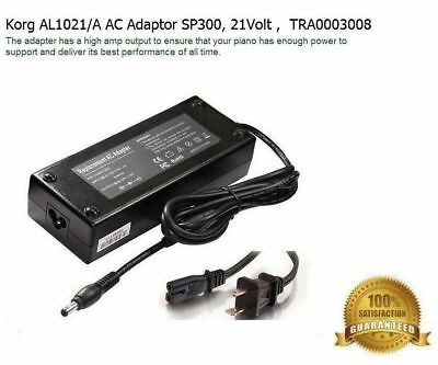 AC Adapter Compatible with Korg AL1021/A Power Supply SP300, 21Volt , TRA0003008