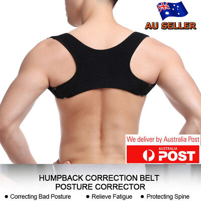 Posture Corrector Brace Men Women Child Back Support Shoulder Belt Adjustable