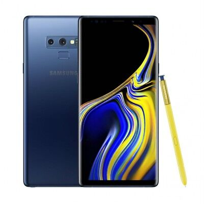 Samsung Galaxy Note9 SM-N960U - 128GB - Ocean Blue AT&T GSM Global Unlocked