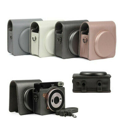 PU Leather Protective Case for Fujifilm Instax Square SQ6 Instant Film Camera
