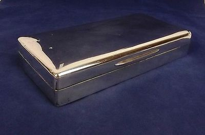 Richard Hale School Silver Cigarette Case London 1927