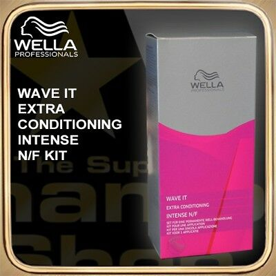 Wella Wave It Extra Acondicionado Intense Nf Kit Schamboo Bonus-Packs