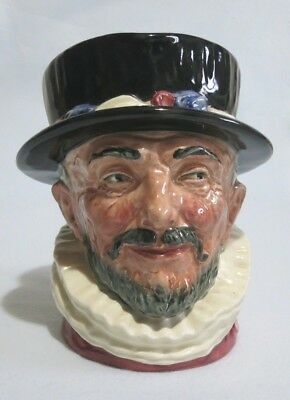 Large Royal Doulton Character Jug BEEFEATER D6202. In excellent condition.