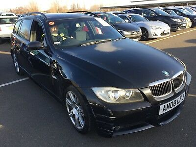 """2008 Bmw 318D 2.0 M-Sport Touring Manual - 8 Stamps *careless Owner* 17"""" Alloys"""