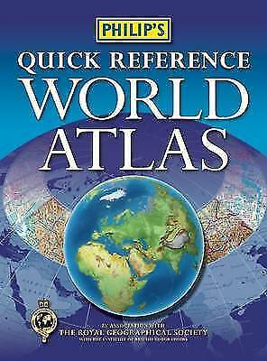 Philip's Quick Reference World Atlas by
