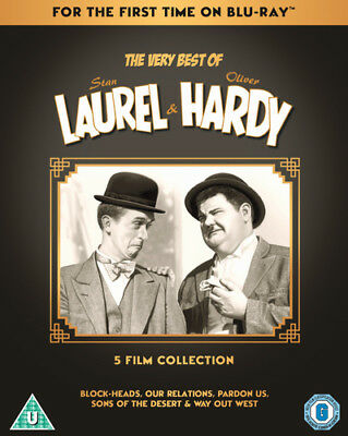 The Very Best of Laurel & Hardy: 5 Film Collection DVD (2018) Stan Laurel