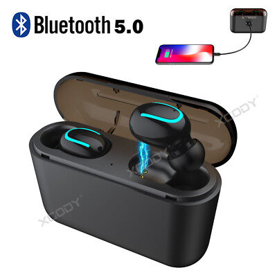 Mini Wireless Earbuds Bluetooth 5.0 Headphone Sport Earpieces Twins Bass Headset