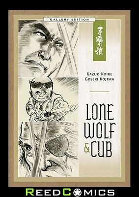 LONE WOLF AND CUB GALLERY EDITION HARDCOVER New Boxed Sealed Artist Hardback