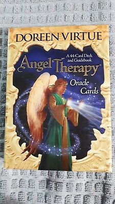 Doreen Virtue Angel Therapy 44 Card Oracle Deck And Guidebook  Cards - Complete