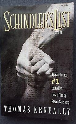 Schindler's List by Thomas Keneally (1993, Paperback) excellent cond.