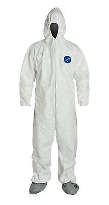 Lot of 2 DuPont Tyvek TY122S Disposable Protective Coverall 2XL