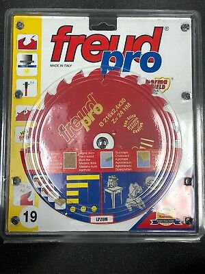 Freud Pro LP20M019 TCT Circular Rip Saw Blade 216mm x 30 x 24 Tooth LP20M 019