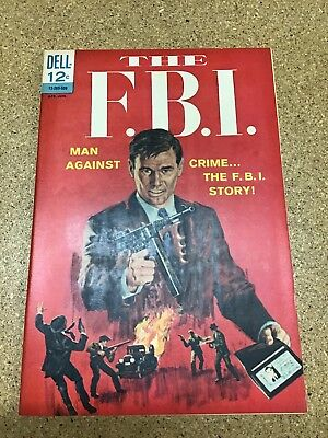 The F.B.I. #1 First Issue Dell Crime Comic 1965