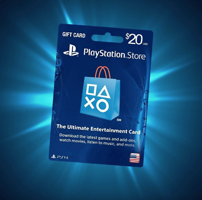 Playstation Network Gift Card 50 Us Psn Points Ps4 Usa Sony Email