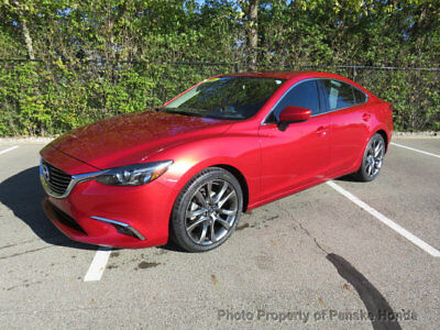 2016 Mazda Mazda6 4dr Sedan Automatic i Grand Touring 4dr Sedan Automatic i Grand Touring Automatic Gasoline 2.5L 4 Cyl RED