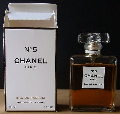 Chanel No. 5 Eau de Parfum EdP 3.4 FL OZ e 100 ml Vaporisateur Spray Zerstäuber