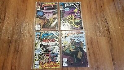 Marvel Comics Indiana Jones and The Last Crusad  4 Book Set  FREE SHIPPING