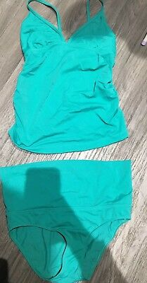 Mothercare Blooming Marvellous Turquoise Tankini Size 10
