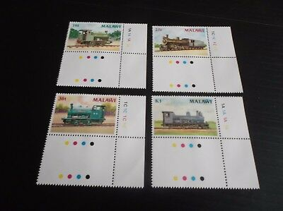 Malawi 1987 Sg 767-770 Steam Locomotives   Mnh
