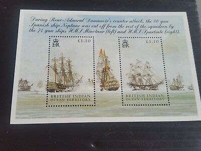 Indian Ocean Territory 2005 Sg Ms326 The Battle Of Trafalgar (1St Issue)  Mnh