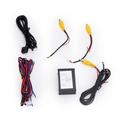2 Channel Car Front Rear View Camera Video Image Switch Intelligent Control Box