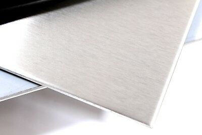 STAINLESS STEEL Sheet Plate Grade 430 Brushed or Polished Finish 0.9 2.0 mm