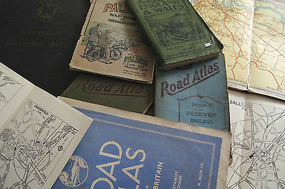 Vintage Maps, Road Atlas & old Town Plans Collection, DVD