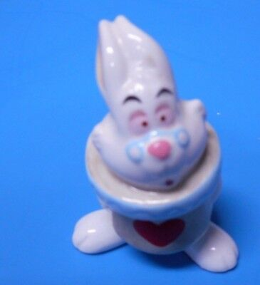 Disney China Porcelain Figurine White Rabbit From Alice In Wonderland