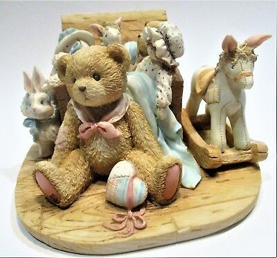 Cherished Teddies ~Christopher -Old Friends Are The Best.Friends (950483) Enesco
