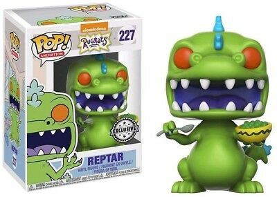 FUNKO POP 227  Rugrats S1 Reptar with Cereal