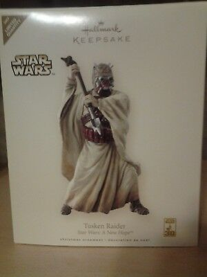 Star Wars Tusken Raider Hallmark Christmas Ornament Limited 2007 PRISTINE UNUSED