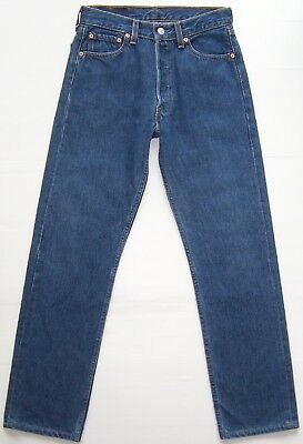 Vintage Levis 501 jeans Made in USA Blue Size 28 - 29 Excellent Condition