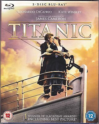 Titanic (Blu-ray, Brand New & Sealed, 2-Disc Set) A Great Christmas Gift idea