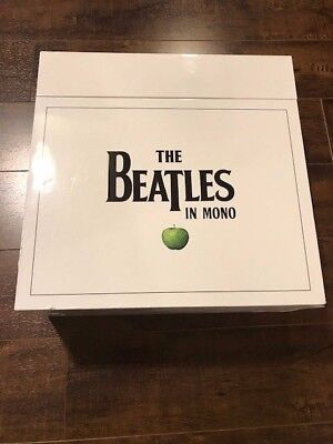 The Beatles In Mono Vinyl Box Set With Book - Brand New