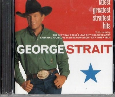 George Strait-Latest Greatest Straitest Hits Cd (Brand New/sealed)!!