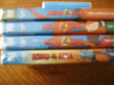 King of the Hill DVD seasons 1 to 4 new sealed (in English)