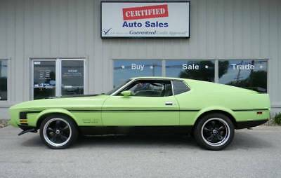 1973 Ford Mustang MACH 1 1973 Ford Mustang Mach 1