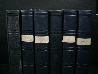 NobleSpirit  NO RESERVE (9039) Colossal Israel 6 Vol Specialized Coll w/ Errors