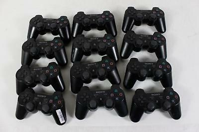 Lot of 12 Sony PlayStation 3 PS3 DualShock 3 Wireless Controllers
