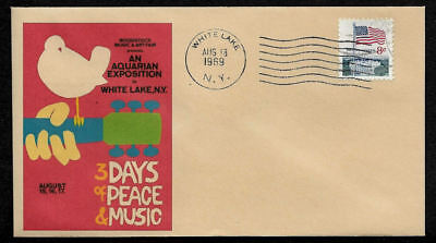 1969 Woodstock Poster Featured on Limited Edition Collector's Envelope *OP447