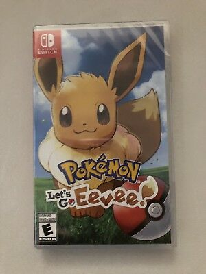 Pokemon: Lets Go, Eevee For Nintendo Switch brand new and sealed
