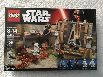 LEGO Star Wars Battle on Takodana 75139 -  BRAND NEW SEALED