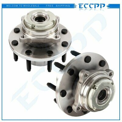 Pair Of 2 Front Wheel Hub Bearing Assembly For Ford F-250/F-350 Super Duty 4WD