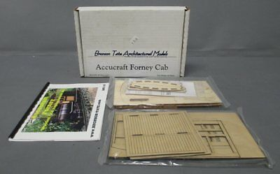 Bronson Tate Architectural Models Live Steam LSC-10 Accucraft Forney Cab Craftsm