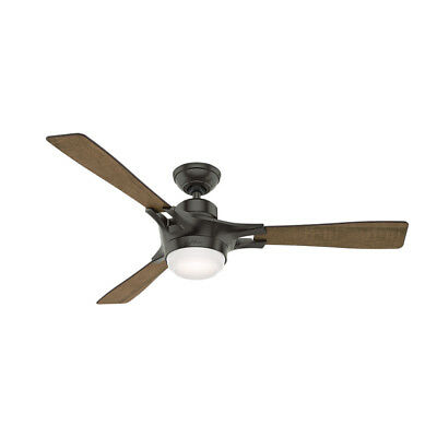 "Hunter Signal Signal 54"" 3 Blade Integrated LED Ceiling Fan with Smart Home Tech"