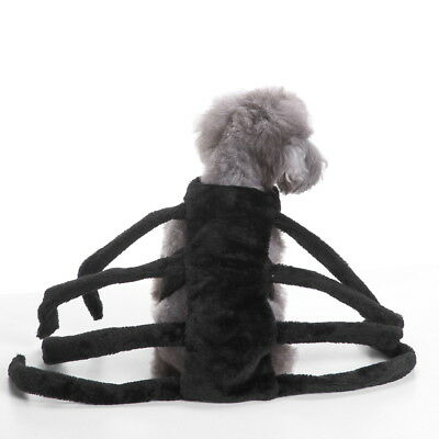 Halloween Pet Clothes Dog Puppy Spider Style Fashion Outwear Photography Prop