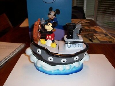 Mickey Mouse Steamboat Willie Cookie Jar