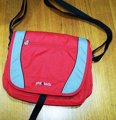 Phil & Teds Bottle/Food cool bag (good used condition) Red Genuine