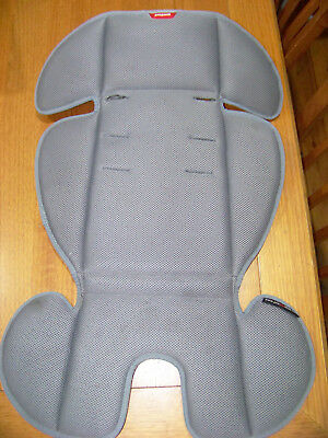 Phil & Teds DOT Air Mesh seat liner - stay cool (good condition) Grey Genuine